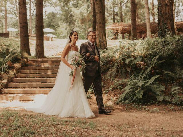 La boda de Alejandro y Eukene en Vilanova De Sau, Barcelona 21