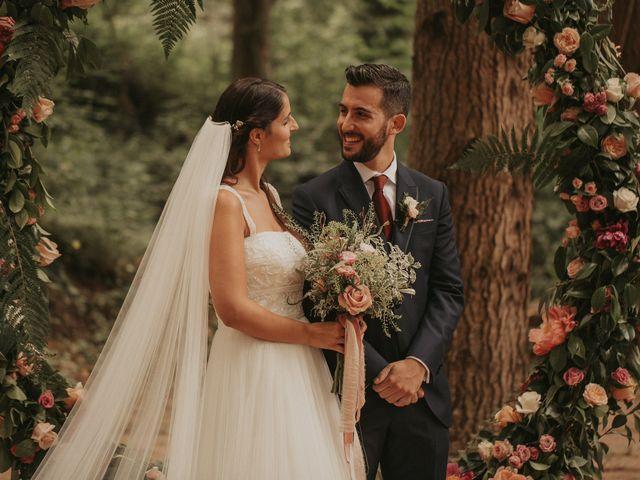 La boda de Alejandro y Eukene en Vilanova De Sau, Barcelona 22