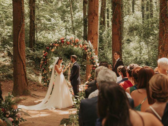 La boda de Alejandro y Eukene en Vilanova De Sau, Barcelona 25