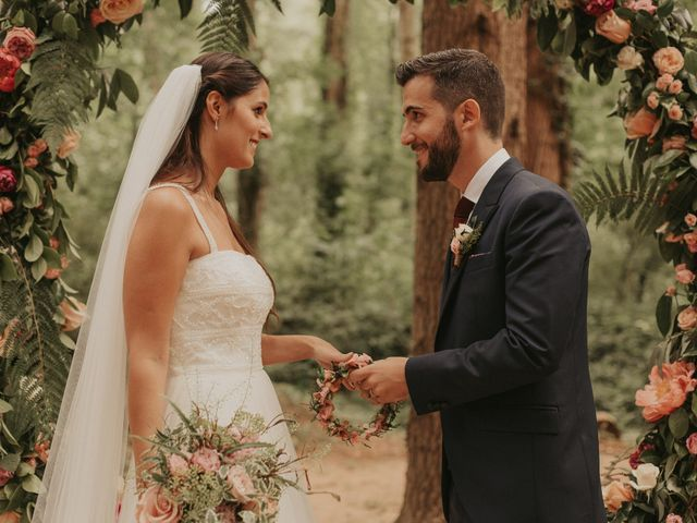 La boda de Alejandro y Eukene en Vilanova De Sau, Barcelona 26