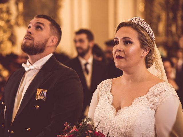 La boda de Javi y Isa en Sevilla, Sevilla 54