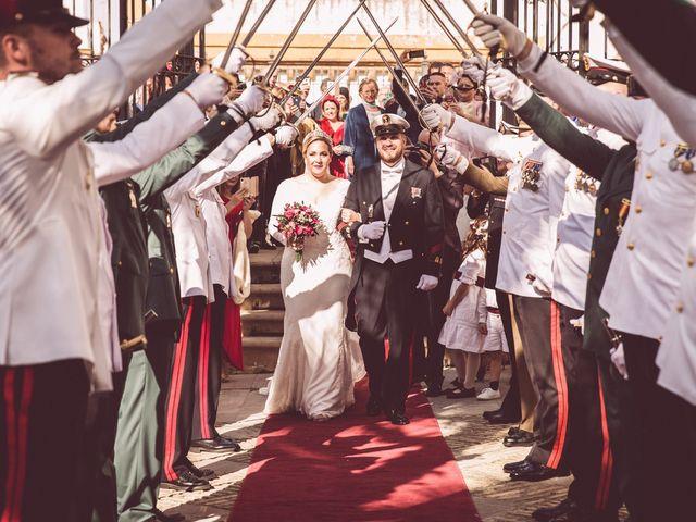 La boda de Javi y Isa en Sevilla, Sevilla 58