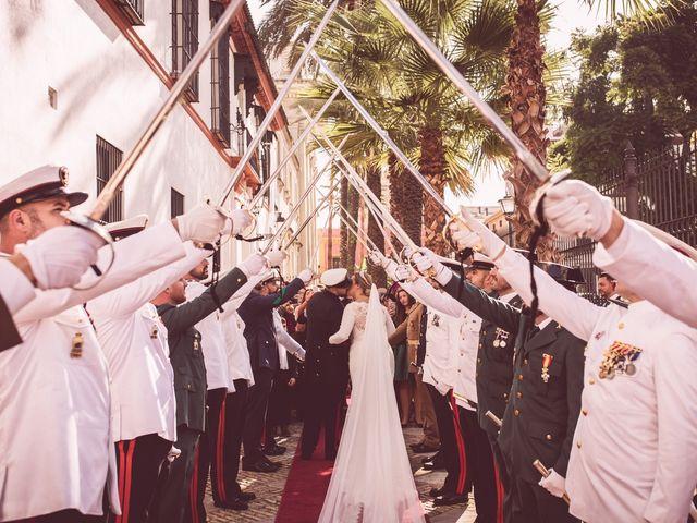 La boda de Javi y Isa en Sevilla, Sevilla 61