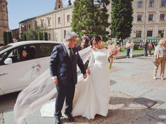 La boda de José y Ana en Salamanca, Salamanca 37
