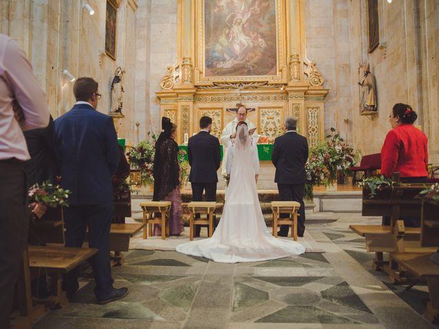 La boda de José y Ana en Salamanca, Salamanca 45