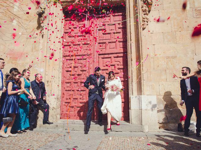 La boda de José y Ana en Salamanca, Salamanca 84