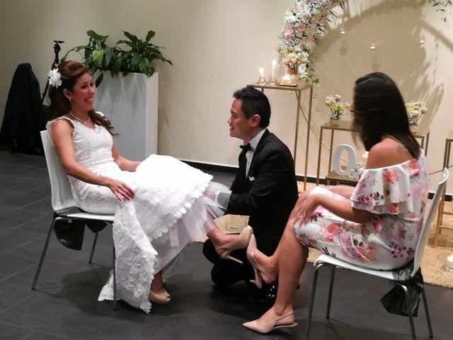 La boda de Olga  y Johnny  en Mataró, Barcelona 9