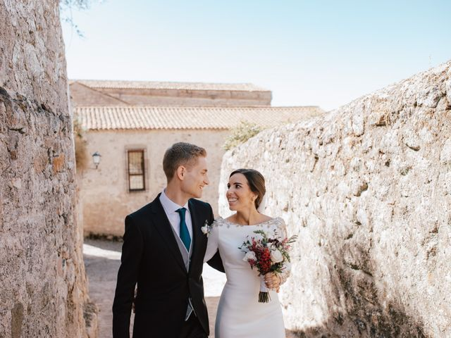 La boda de Thomas y Pilar en Trujillo, Cáceres 9