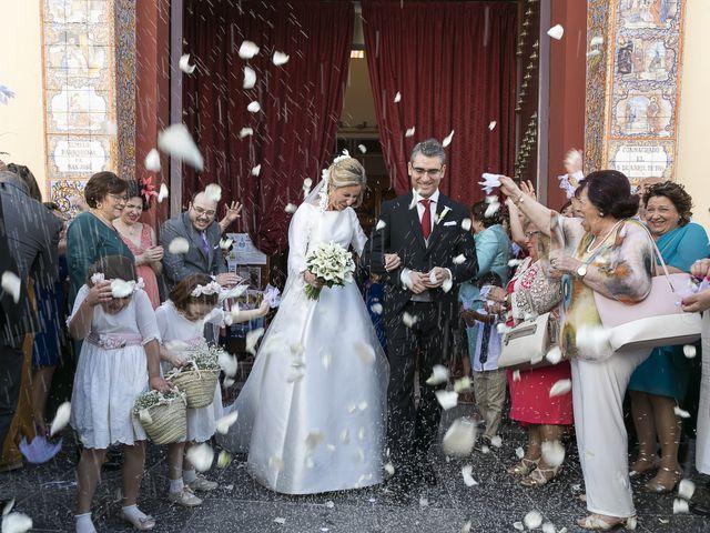 La boda de Mariano y Cristina en Bollullos De La Mitacion, Sevilla 34