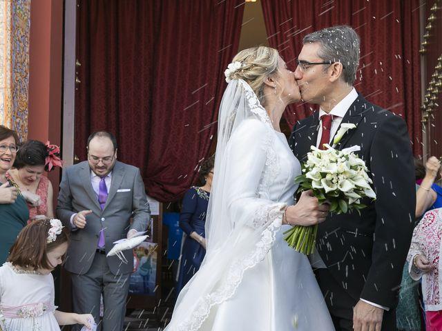 La boda de Mariano y Cristina en Bollullos De La Mitacion, Sevilla 35