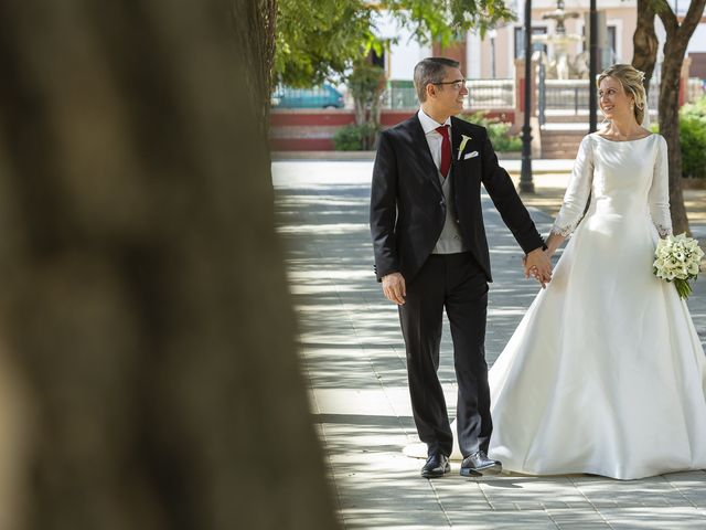 La boda de Mariano y Cristina en Bollullos De La Mitacion, Sevilla 47