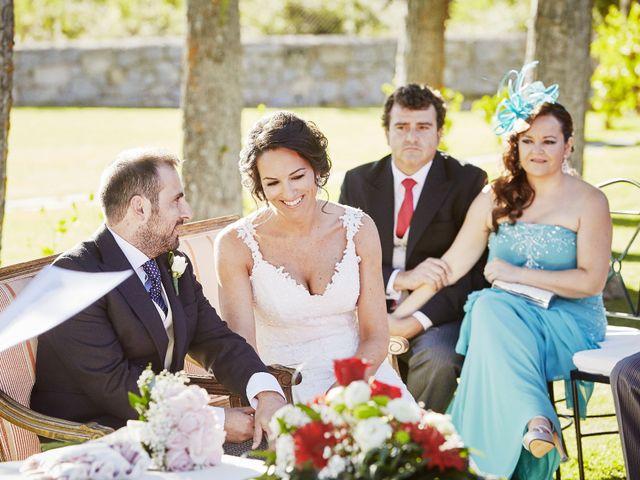 La boda de Fernando y Beatriz en Sotosalbos, Segovia 52