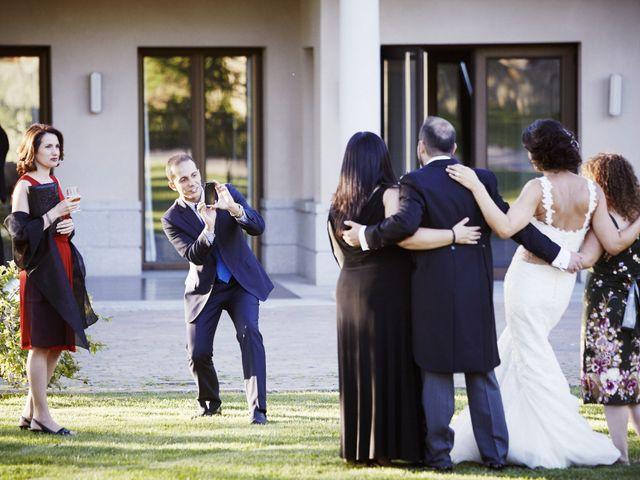 La boda de Fernando y Beatriz en Sotosalbos, Segovia 61