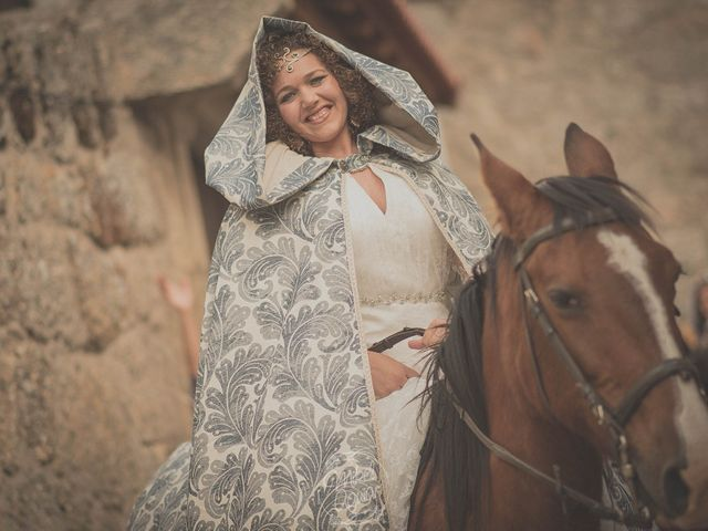 La boda de Santi y Sandra en Navacepedilla De Corneja, Ávila 29
