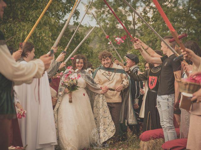 La boda de Santi y Sandra en Navacepedilla De Corneja, Ávila 42