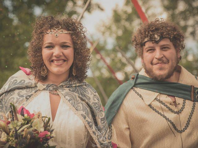 La boda de Santi y Sandra en Navacepedilla De Corneja, Ávila 43