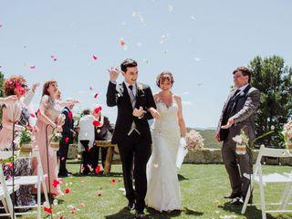La boda de Estefania y Adrià