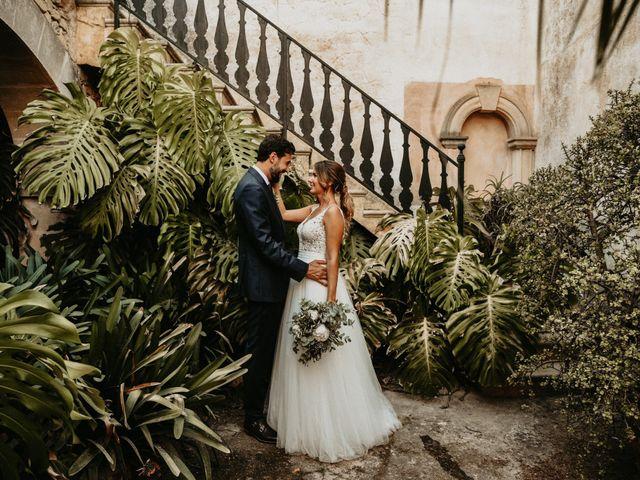 La boda de Alberto y Carolina en Montuïri, Islas Baleares 35