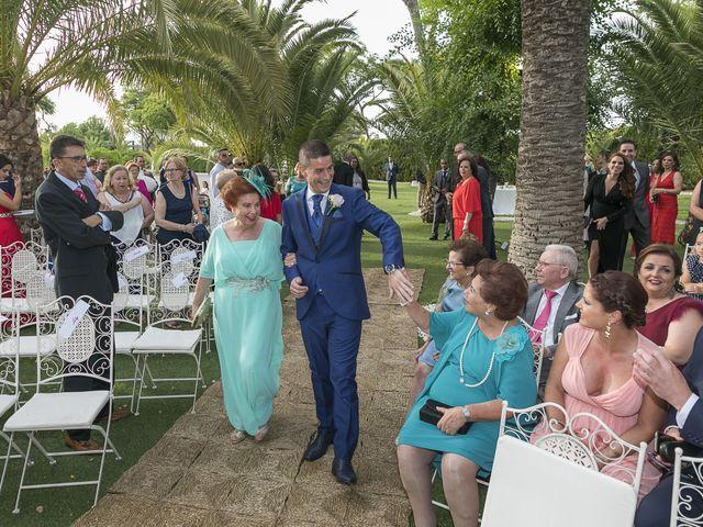 La boda de José Antonio y Agueda en Santiponce, Sevilla 18