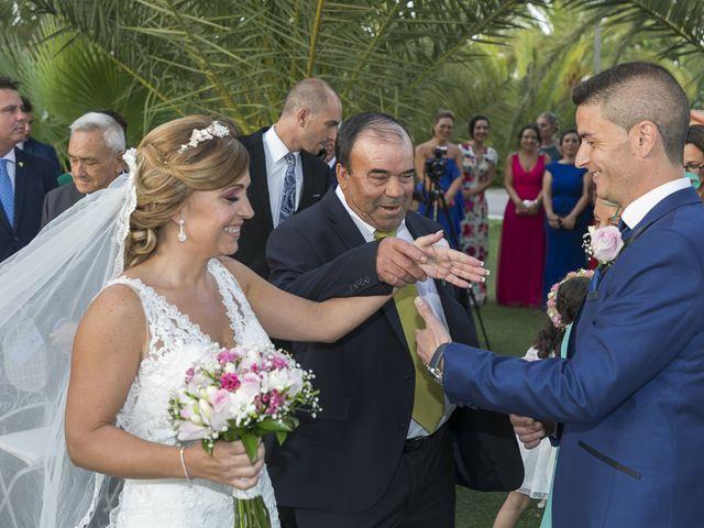 La boda de José Antonio y Agueda en Santiponce, Sevilla 21