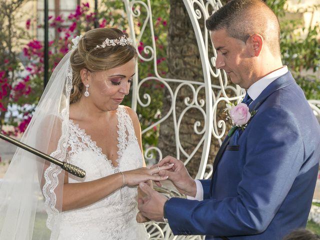 La boda de José Antonio y Agueda en Santiponce, Sevilla 29