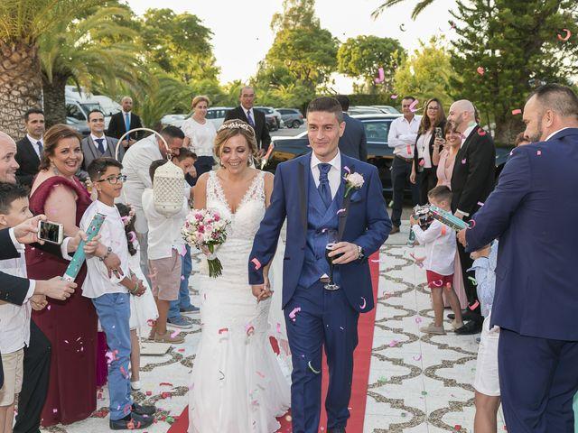 La boda de José Antonio y Agueda en Santiponce, Sevilla 41