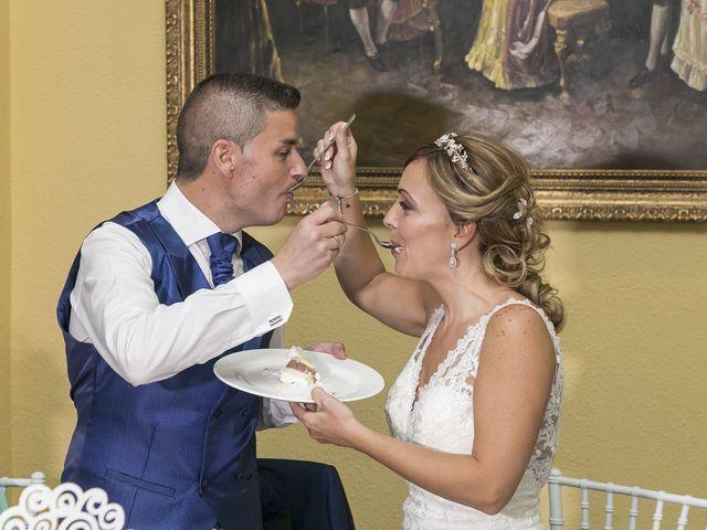 La boda de José Antonio y Agueda en Santiponce, Sevilla 54