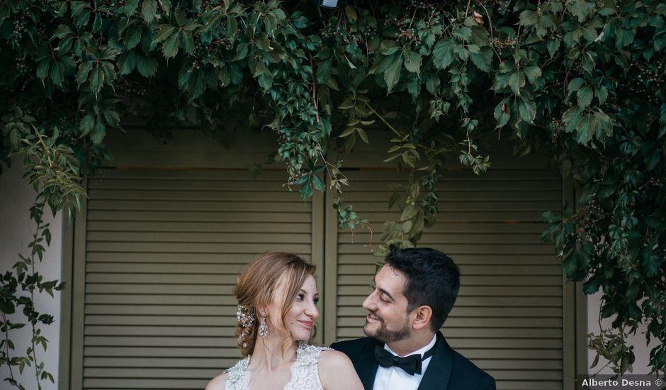 La boda de Miguel Ángel y Laura en San Agustin De Guadalix, Madrid