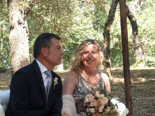 La boda de Teresa Lapiedra  y Xavier Delgado