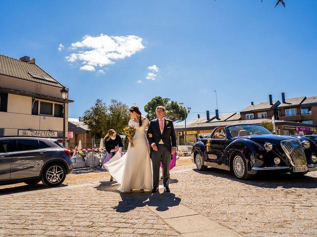 La boda de Leandro y Laura en Torrelodones, Madrid 10