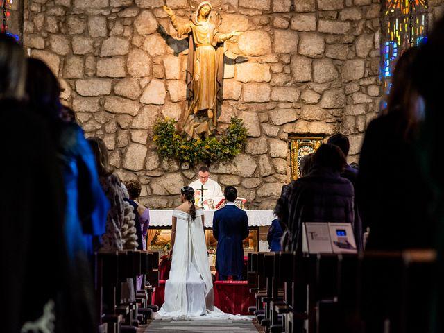 La boda de Leandro y Laura en Torrelodones, Madrid 12