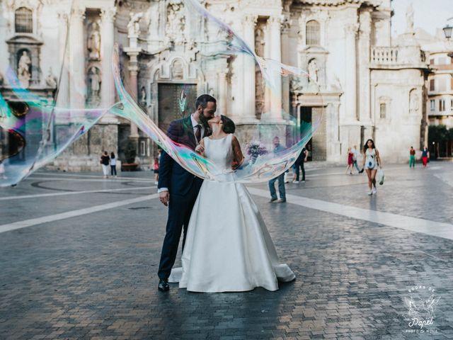 La boda de Javier y Rocio en Santuario De La Fuensanta, Murcia 40