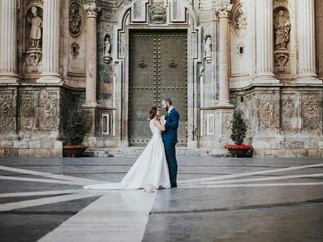 La boda de Javier y Rocio en Santuario De La Fuensanta, Murcia 46
