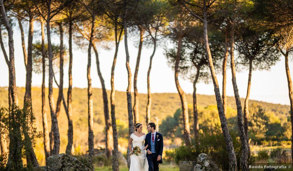 La boda de Leandro y Laura en Torrelodones, Madrid