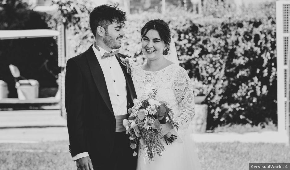 La boda de Carlos y Cristina en Madrid, Madrid