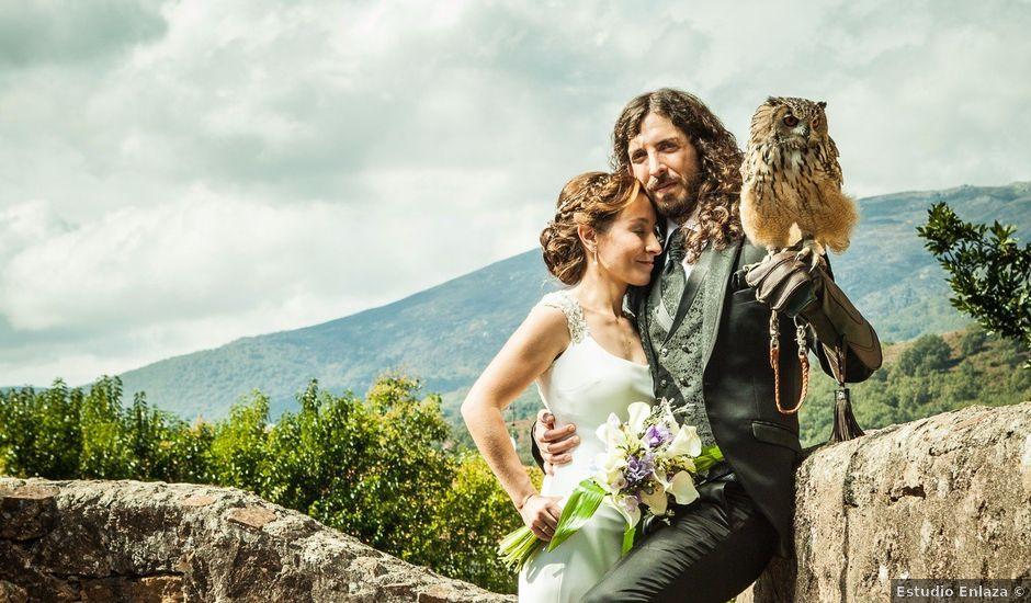 La boda de Felipe y Victoria en Jarandilla, Cáceres