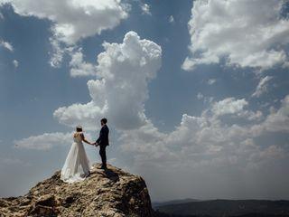 La boda de Nazaret y Flor