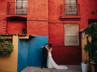 La boda de Alba y Csaba