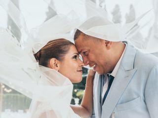 La boda de Gisela y Benjamín