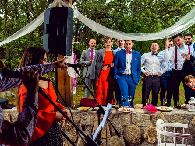 La boda de Juanjo y Vanessa en Navaluenga, Ávila 72