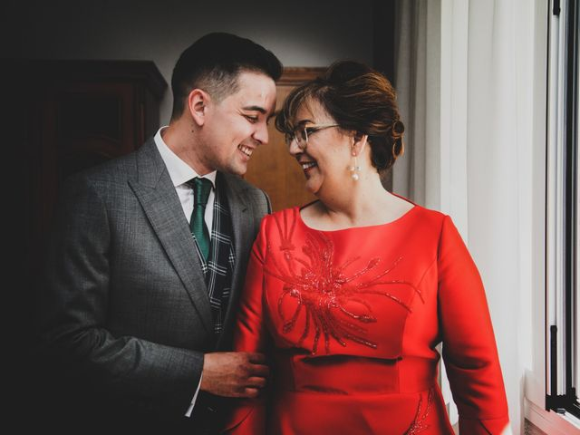 La boda de Carlos y Amparo en Villarta De San Juan, Ciudad Real 12