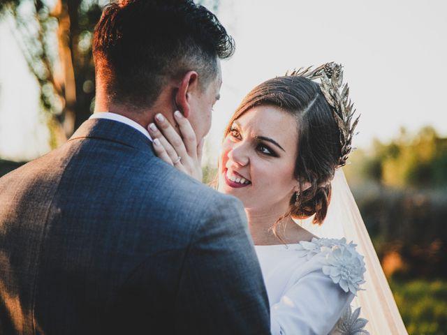 La boda de Carlos y Amparo en Villarta De San Juan, Ciudad Real 29