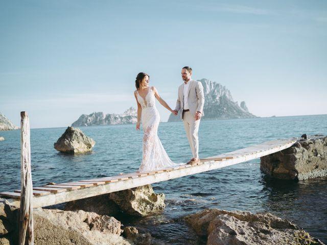 La boda de Adam y Aggie en Eivissa, Islas Baleares 19