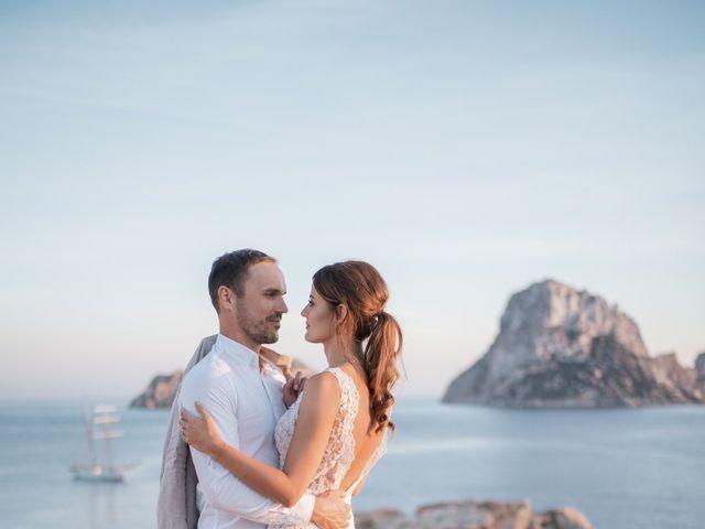 La boda de Adam y Aggie en Eivissa, Islas Baleares 24