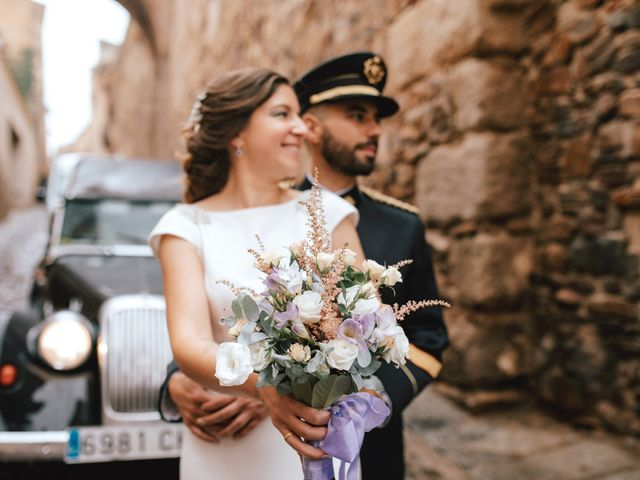La boda de Alejandro y Marta en Cáceres, Cáceres 1