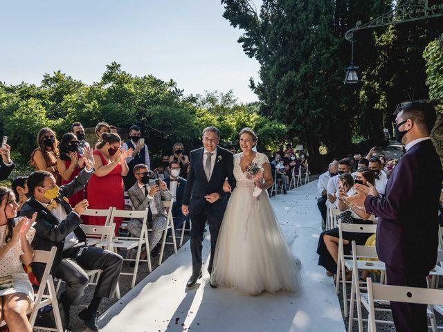 La boda de Lorena y Javi en Sant Feliu De Codines, Barcelona 36