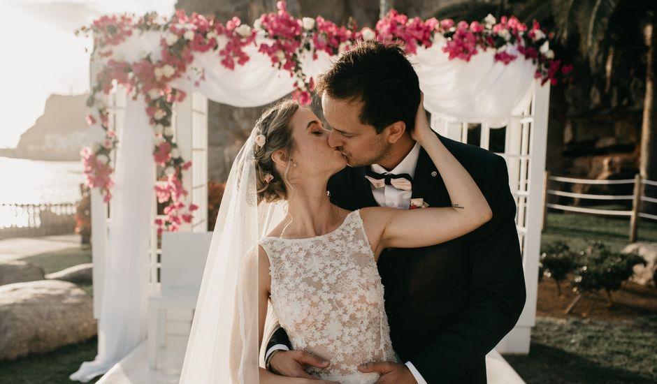 La boda de Alfonso y Elodie en Taurito, Las Palmas