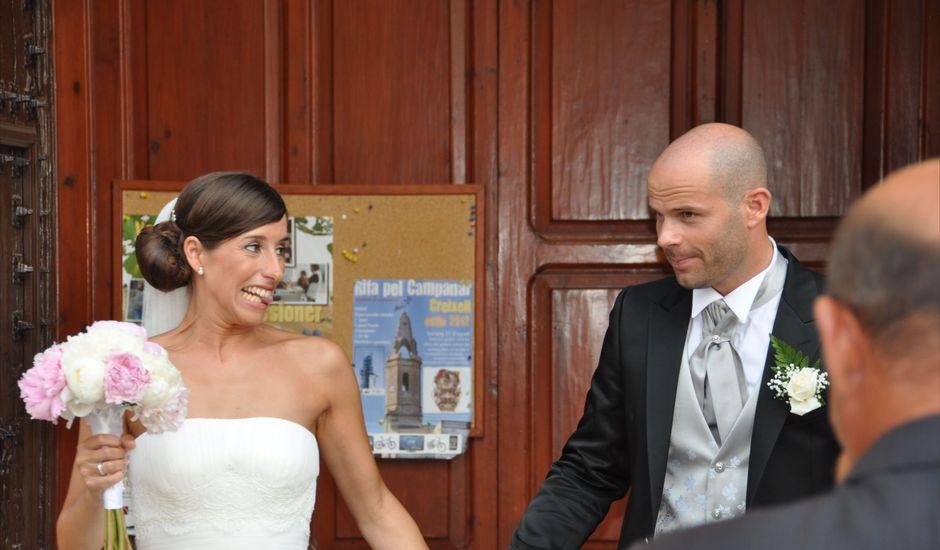 La boda de Laura y Víctor en Creixell, Tarragona