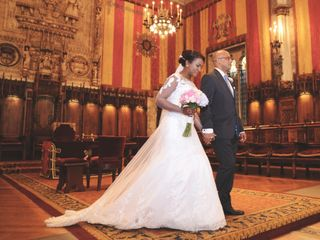 La boda de Kenia y David