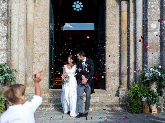 La boda de Rafael y Natalia en Santiago De Compostela, A Coruña 1